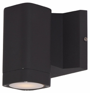 Maxim 86108ABZ Lightray LED Contemporary Architectural Bronze Finish 5.25 Tall Outdoor Sconce Lighting