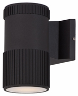 Maxim 86122ABZ Lightray LED Contemporary Architectural Bronze Finish 6.25 Tall Outdoor Wall Light Sconce
