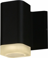Maxim 86131ABZ Lightray Contemporary Architectural Bronze LED Exterior Wall Sconce Lighting