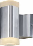 Maxim 86132AL Lightray Contemporary Brushed Aluminum Outdoor 7  Wall Lamp