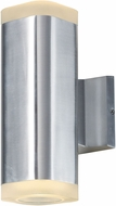 Maxim 86135AL Lightray Contemporary Brushed Aluminum Outdoor 10  Wall Lamp