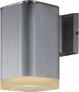 Maxim 86137AL Lightray Modern Brushed Aluminum LED Outdoor Wall Sconce Light