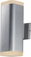 Maxim 86138AL Lightray Modern Brushed Aluminum LED Outdoor Wall Lamp
