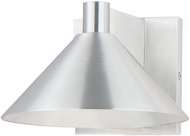 Maxim 86141AL Conoid LED Brushed Aluminum LED Exterior 8  Sconce Lighting