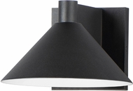 Maxim 86141BK Conoid LED Black LED Outdoor 8  Sconce Lighting