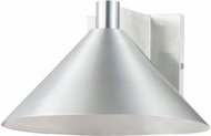 Maxim 86143AL Conoid LED Brushed Aluminum LED Outdoor 10  Wall Lamp