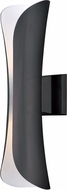 Maxim 86146ABZ Scroll Contemporary Architectural Bronze LED Outdoor Wall Lighting Sconce