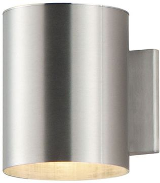 Maxim 86401AL Outpost Modern Brushed Aluminum LED Outdoor 7 Wall Mounted Lamp