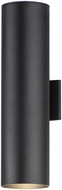 Maxim 86405BK Outpost Modern Black LED Exterior 22  Wall Light Sconce
