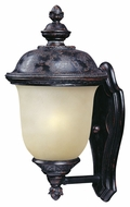Maxim 86522MOOB Carriage House EE Traditional Oriental Bronze 9  Wide Exterior Wall Sconce Lighting