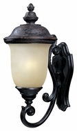 Maxim 86524MOOB Carriage House EE Traditional Oriental Bronze 12.5  Wide Exterior Wall Light Sconce