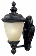 Maxim 86595MOOB Carriage House EE Traditional Oriental Bronze 6  Wide Exterior Wall Light Sconce