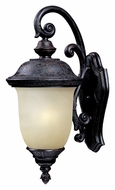 Maxim 86596MOOB Carriage House EE 20 Inch Tall Oriental Bronze Fluorescent Outdoor Sconce