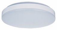 Maxim 87582WTWT Profile EE Medium White Finish 11 Inch Diameter Flush Mount Light