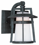 Maxim 88532SWAE Calistoga LED Small 10 Inch Tall Outdoor Sconce Lighting - Transitional