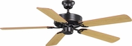 Maxim 89905OIWP Basic-Max Oil Rubbed Bronze / Walnut / Pecan Ceiling Fan