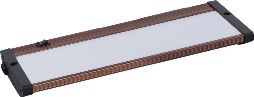 Maxim 89962BRZ CounterMax MX L120 EL Contemporary Anodized Bronze LED Under  Cabinet Lighting. Loading Zoom