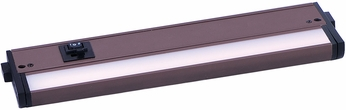 Maxim 89993BZ CounterMax MX-L-120-3K Contemporary Bronze LED 12  Cabinet Lighting