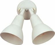 Maxim 92008WT Spots White Exterior Wall Sconce Lighting