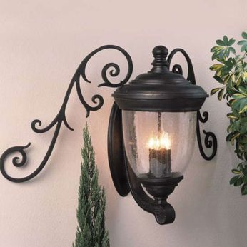 Melissa TC3790433 Traditional Outdoor Wall Mounted Lamp