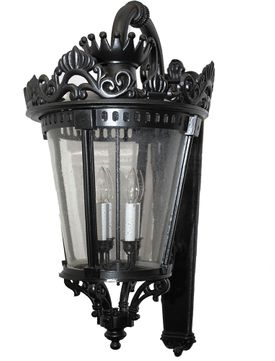 Melissa TC439072 Traditional Exterior Lamp Sconce