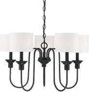 Meridian M10073AI Aged Iron Hanging Chandelier