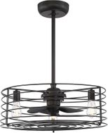 Meridian M2007ORB Contemporary Oil Rubbed Bronze LED Home Ceiling Fan