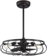 Meridian M2008ORB Modern Oil Rubbed Bronze LED Ceiling Fan