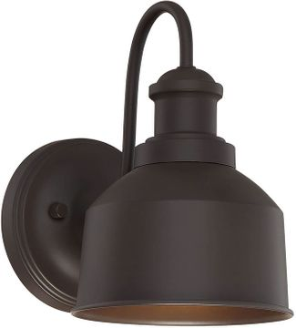Meridian M50046ORB Oil Rubbed Bronze Exterior Wall Sconce