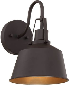 Meridian M50049ORB Oil Rubbed Bronze Exterior Light Sconce
