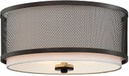 Meridian M60018ORB Contemporary Oil Rubbed Bronze Overhead Lighting