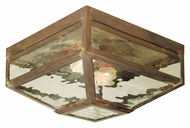 Meyda Tiffany 102519 Mission Prime Traditional Vintage Copper Finish 12.5 Wide Exterior Ceiling Lighting
