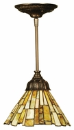 Meyda Tiffany 103045 Jadestone Delta Tiffany 8  Wide Mini Pendant Lighting