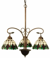 Meyda Tiffany 103183 Meyda Grape Tiffany Chandelier Lighting