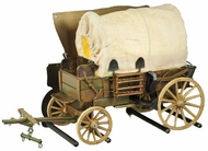 Meyda Tiffany 107372 Covered Wagon Antique Copper 19 Inch Wide Rustic Wall Lighting