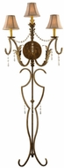 Meyda Tiffany 107845 Theatrical Old Broadway Three-Light Wall Sconce