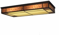 Meyda Tiffany 108942 Polaris Oblong 48 Inch Wide Ceiling Light Fixture - Flush Mount
