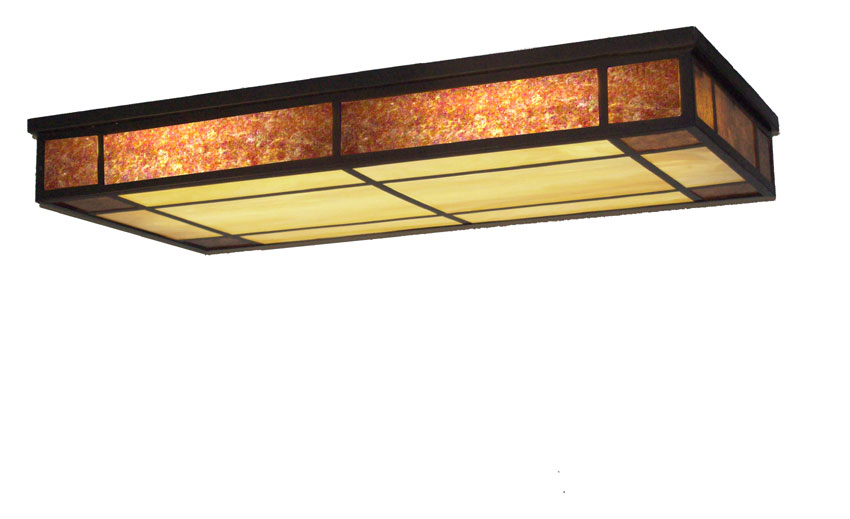 Meyda Tiffany 108942 Polaris Oblong 48 Inch Wide Ceiling Light Fixture Flush Mount Loading Zoom