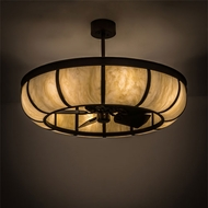 Meyda Tiffany 110002 Chandel-Air Plain Dome Pendant Light