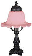 Meyda Tiffany 11247 Fluted Bell Traditional Accent Table Lamp