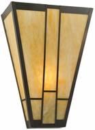 Meyda Tiffany 114706 Yosemite 17 Inch Tall Transitional Style Wall Sconce