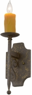 Meyda Tiffany 115311 Toscano 15 Inch Tall Traditional Faux-Candle Wall Sconce