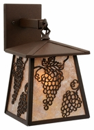 Meyda Tiffany 115361 Stillwater Grapes Hanging Sconce Light Fixture - 12 Inches Tall