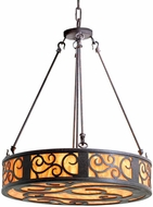Meyda Tiffany 115790 Dean Drum Pendant Hanging Light