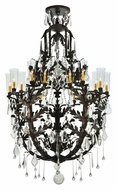 Meyda Tiffany 117280 French Baroque 44 Inch Diameter Large Traditional Candle Chandelier