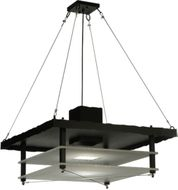 Meyda Tiffany 118188 Atlantis Contemporary 30 Inch Wide Square Pendant Lamp