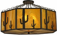 Meyda Tiffany 11849 Southwest Rustic Timeless Bronze Overhead Lighting