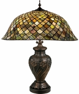 Meyda Tiffany 118588 FISHSCALE Tiffany Table Lighting