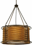 Meyda Tiffany 128776 Maille Contemporary 24 Inch Diameter Small Pendant Drum Light