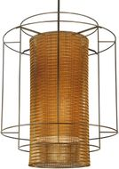 Meyda Tiffany 128779 Maille 60 Inch Diameter Cylindrical Modern Hanging Light